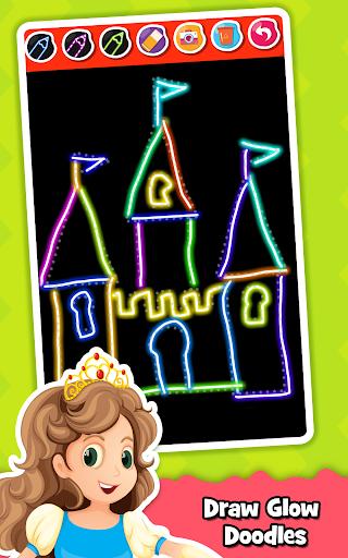 Princess Coloring Book for Kids & Girls Games ud83cudfa8 screenshots 4