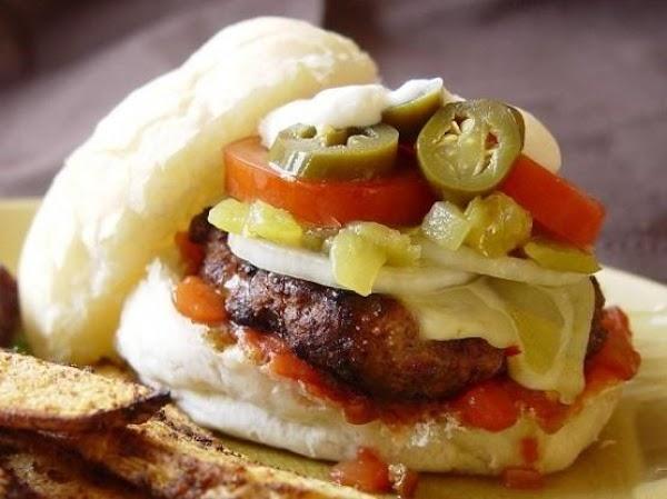 Chile Rellenos Burgers Recipe