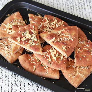 Parmesan Rosemary Flat Bread.