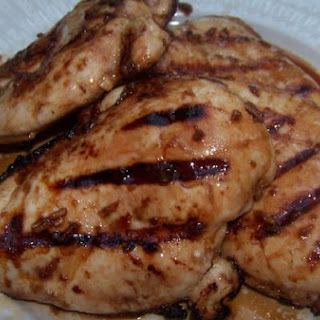 Asian Grilled Chicken Breasts