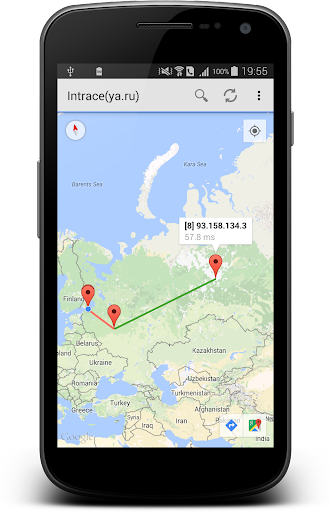 Intrace – Visual traceroute v1.9 build 163 [Premium]