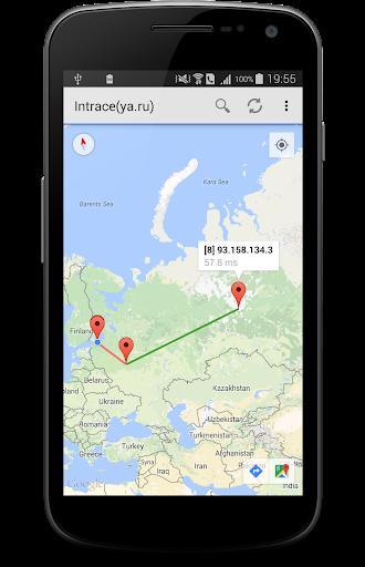 Intrace – Visual traceroute v1.18 [Premium]