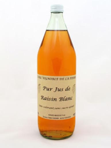 Pur Jus de Raisin Blanc - Cépage Jacquère - Domaine Yves Girard-Madoux - Vignoble de la Pierre - Vin de Savoie - Chignin