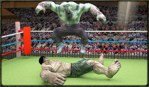 Incredible Monster Superheroes Ring Battle  screenshots 16