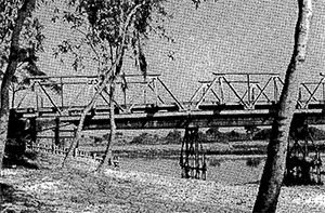 Photo: Indian soldiers were burned & killed, under this Dahuk river bridge in 1971 war