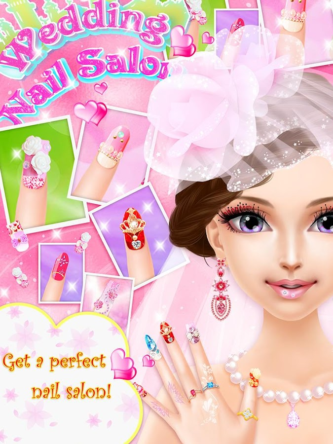 Wedding nail salon girl game android apps on google play wedding nail salon girl game screenshot prinsesfo Images