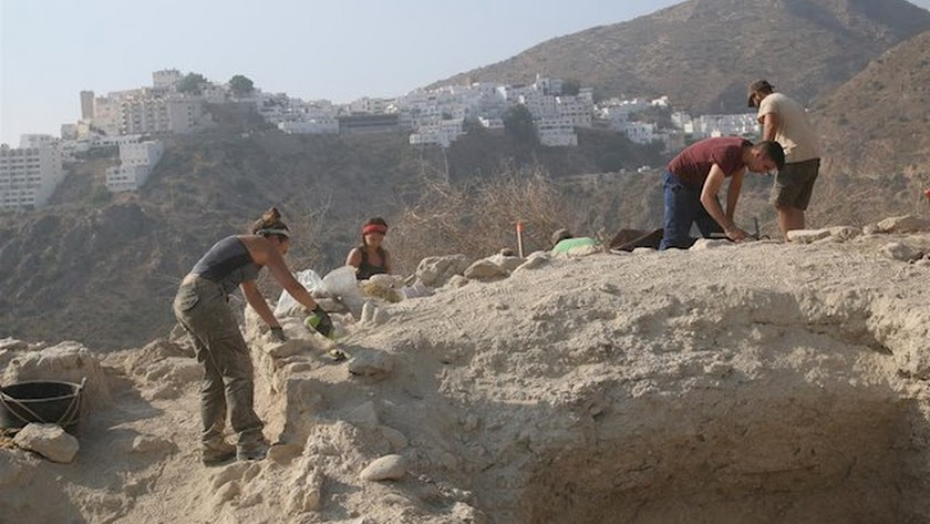 Imagen de archivo que muestra los trabajos de excavación de una campaña anterior.