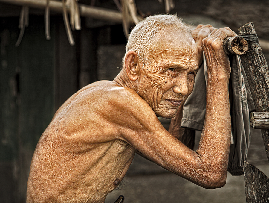 by Dhoan Anggara - People Portraits of Men ( senior citizen )