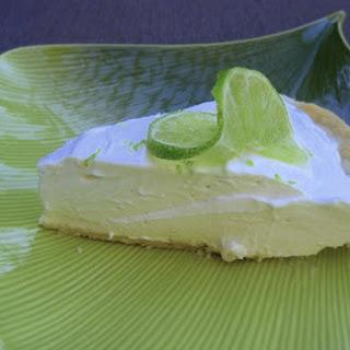 Easy Refrigerator Key Lime Pie.