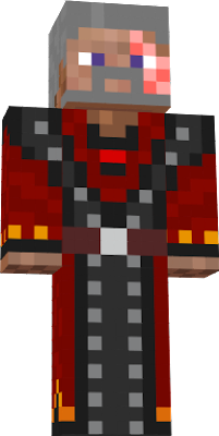 The Gothic fire mage skin