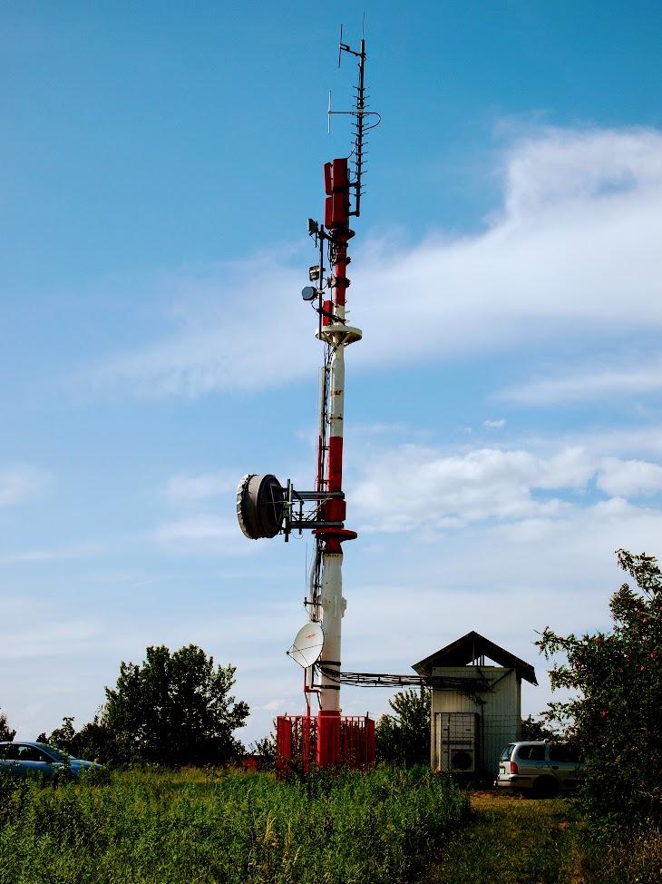 Eger/Almagyar-tető - DVB-T gapfiller+helyi URH-FM adóállomás