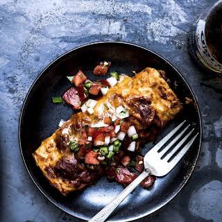 Tex-Mex-Style Beef Enchiladas.