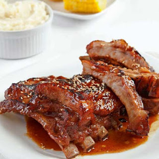 Sweet and Spicy Pork Ribs