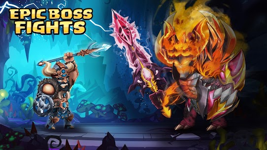 Tiny Gladiators 2: Heroes Duels – RPG Battle Arena Apk Download For Android and Iphone 6