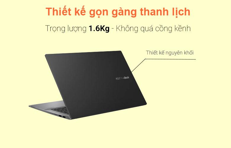 Laptop Asus Vivobook S533EA-BN293T   Thiết kế gọn gàn thanh lịch