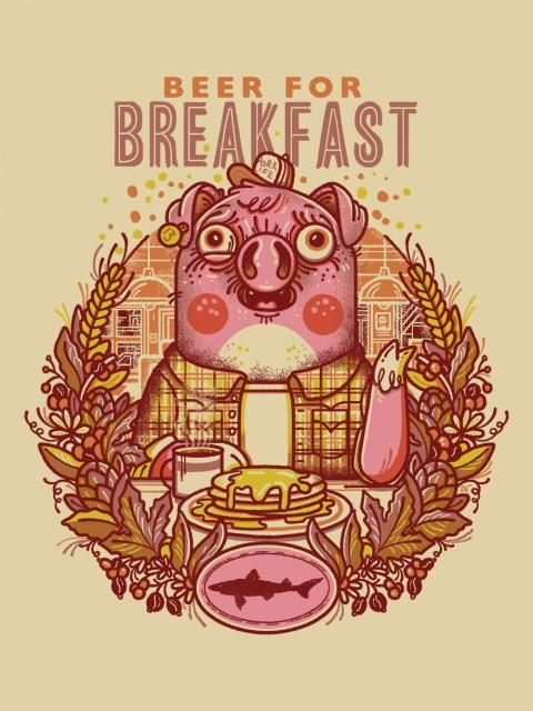 Logo of Dogfish Head Beer For Breakfast