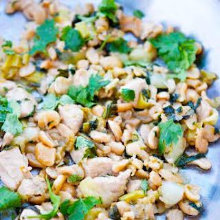 Clean Eating Bok Choy Cashew Chicken.