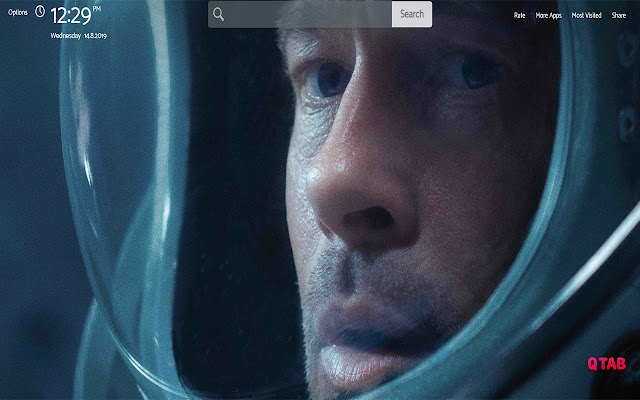 AD ASTRA Wallpapers Theme New Tab