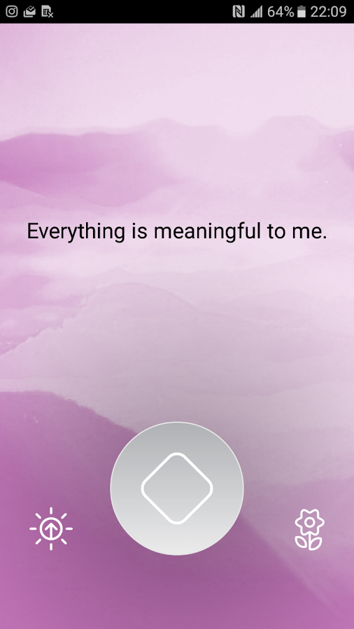 Unique Daily Affirmations- screenshot