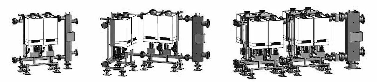 Viessmann Vitodens 200-W каскадні системи
