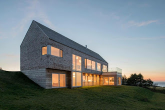 Photo: Harbour Heights Residence Inverness, Nova Scotia with Omar Gandhi Architect
