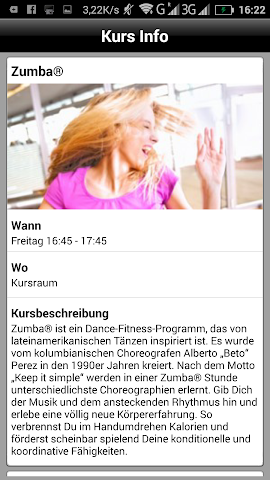android easy sports Freizeitanlagen Screenshot 2