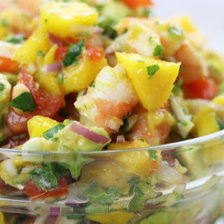 Mango Shrimp Salsa.