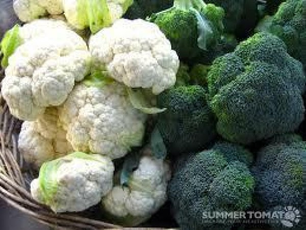 Chop all in bite size pieces ( broccoli, cauliflower) etc. Place in a large...