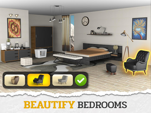 Design My Home Makeover: Words of Dream House Game modavailable screenshots 3