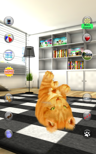 Talking Lovely Cat apkpoly screenshots 9