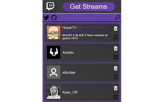 Get Streams