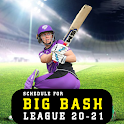 Schedule for Big Bash League 20-21 | BBL Schedule icon
