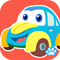 宝宝拼图:交通工具 - 熊大叔儿童教育游戏 icon