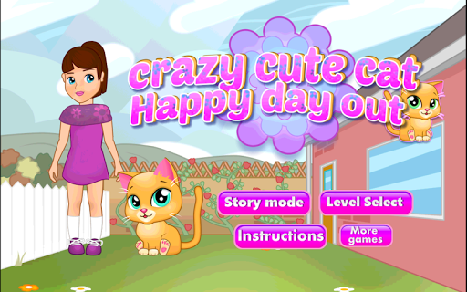 休閒必備免費app推薦|????Crazy Cute Cat Happy Day Out線上免付費app下載|3C達人阿輝的APP