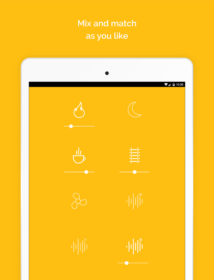 Noisli - Focus, Concentration & Relaxation- screenshot