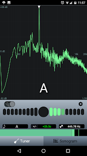 n-Track Guitar Tuner Free- screenshot thumbnail