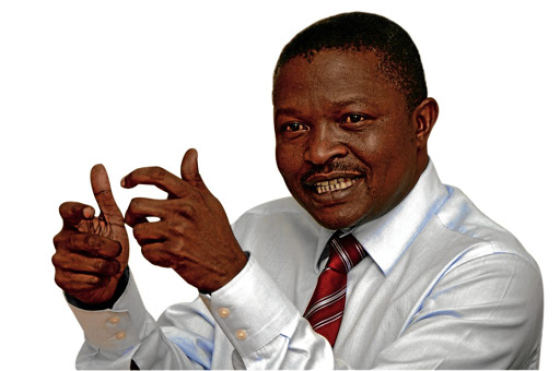 David Mabuza has emerged as a kingmaker. Picture: SUNDAY TIMES