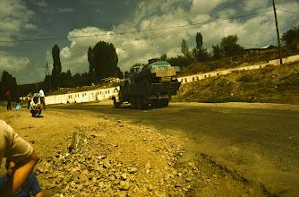 Photo: per Anhalter in Richtung Pamir