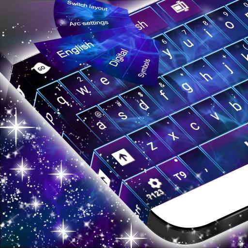Dark Space Abstract Keyboard 個人化 App LOGO-硬是要APP