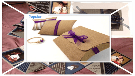 Unique DIY Gift Box Craft - náhled