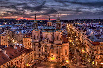 Photo: Prague's Old Town Square  Old town is a wonderful part of Prague and a view from Old Town Hall Tower is absolutely amazing.  #tonemaphdrtuesday curators +Drew Pion +Stephanie Suratos #architexturetuesday curator: +Ranjan Saraswati