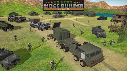US Army Bridge Construction Simulator Game for PC