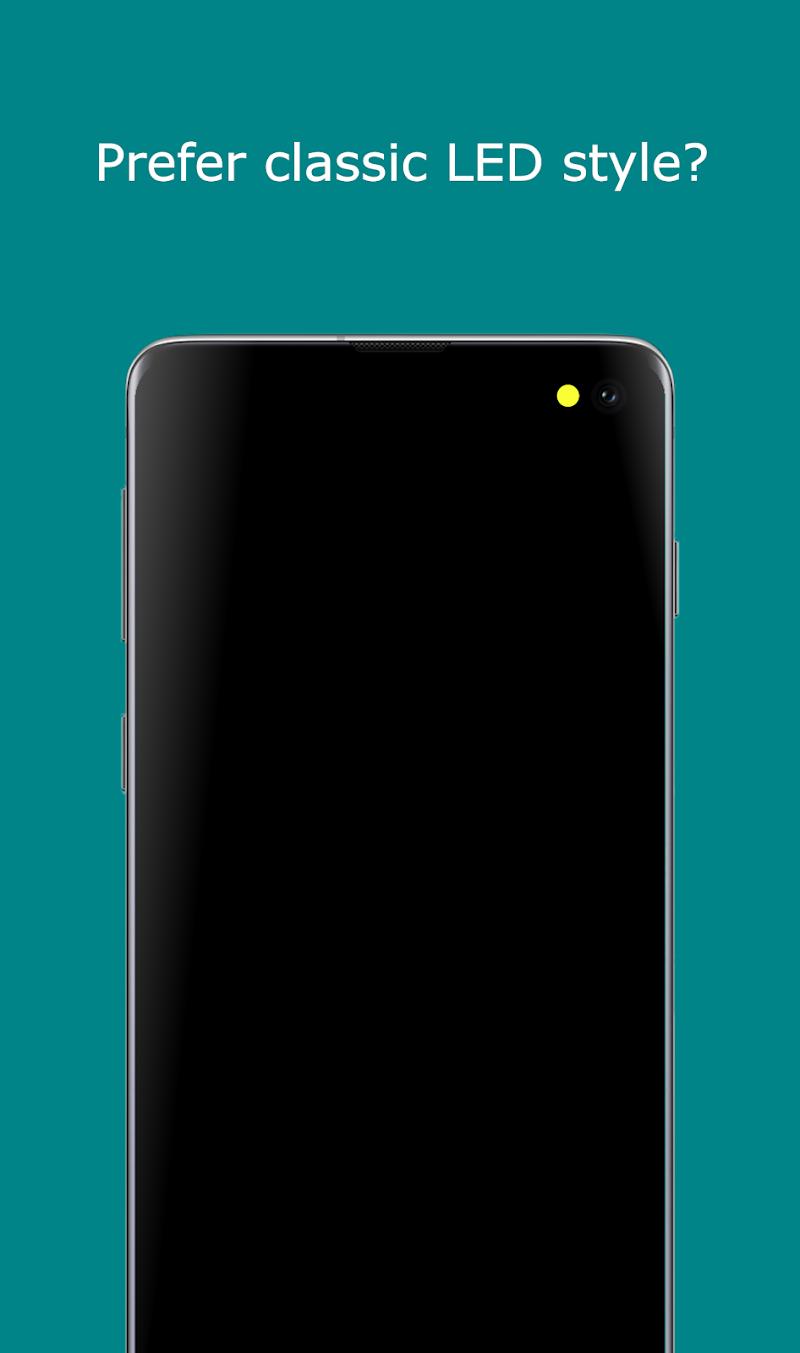 Notification Light / LED Note10, S10 - aodNotify Screenshot 2
