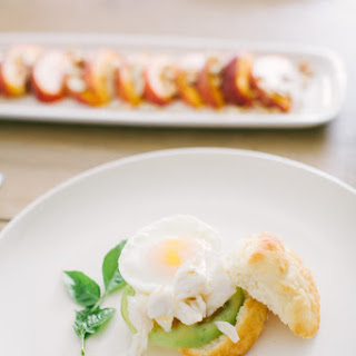 Heirloom Tomato Benedict with Lump Crab