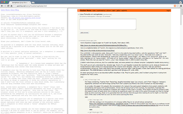 Back to the Comments - Hacker News