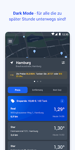 TankenApp mit Benzinpreistrend screenshot 4