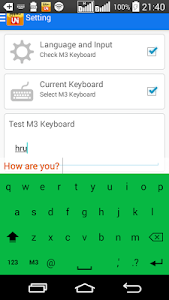 M3 Keyboard screenshot 5