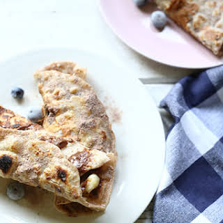 High protein French toast tortillas.