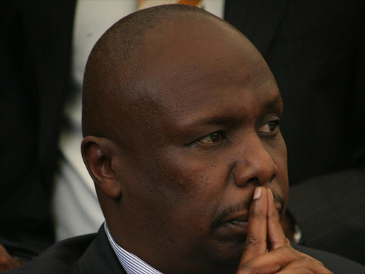 KANU chairman Gideon Moi. Photo/File