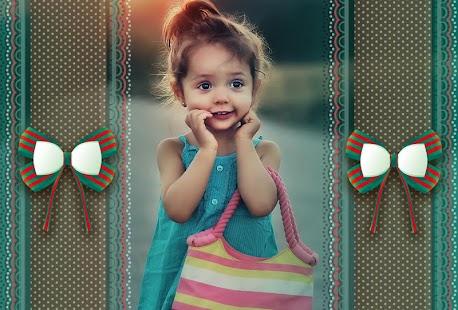Cute Girl Photo Frames - náhled